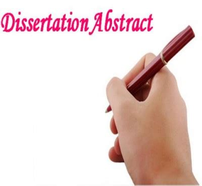 Sample abstract for research paper mla